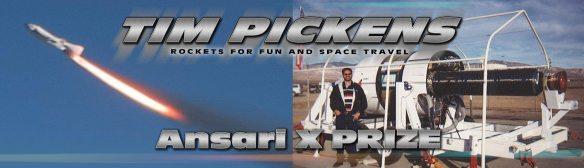 Ansari X PRIZE Tim Pickens