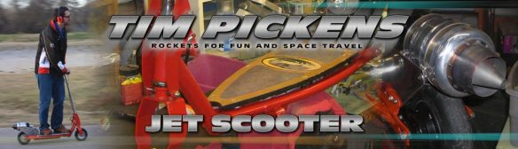 Tim Pickens Jet Scooter Projects