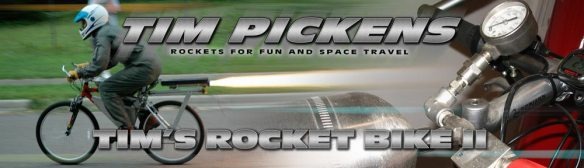 Tim Pickens' Second Rocket Bike