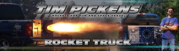 Tim Pickens Rocket truck Project