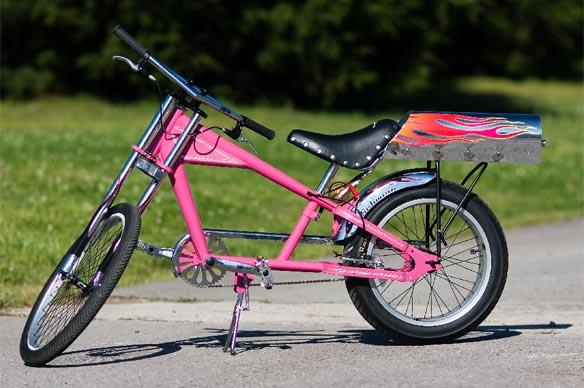 Sarah Pickens rocket bike