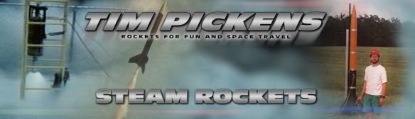 Tim Pickens Steam Rockets Project